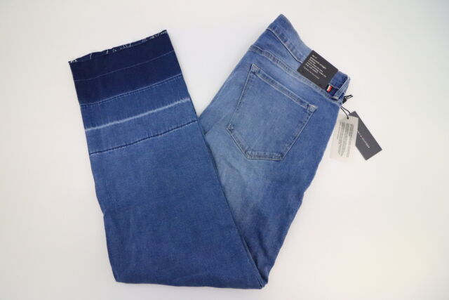1af37c499ac Buy Tommy Hilfiger Womens Mid Rise Straight Blue Jeans Size 14 ...