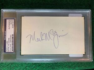 Mark-McGwire-PSA-3x5-Autograph-Index-Card-83375736-Homerun-Leader-Early-Auto