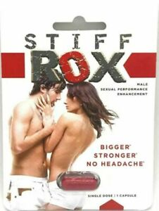 Stiff Rox Male Sexual Performance Enhancement Tablet - 6 Pills