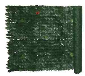 Siepe sintetica artificiale sempreverde foglia edera 1 5x3 for Siepe sintetica artificiale