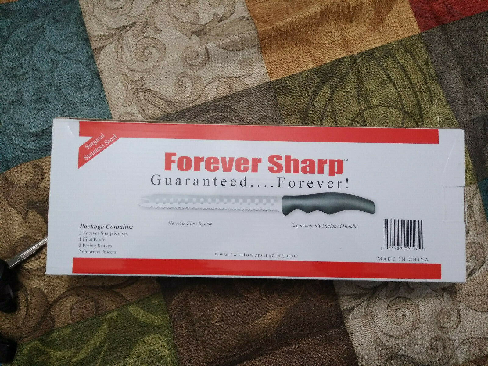 Forever sharp knives classic series knife set with juicers 8 piece set new for sale online