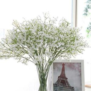 For wedding bouquet white gypsophila babys breath artificial fake image is loading for wedding bouquet white gypsophila baby 039 s mightylinksfo