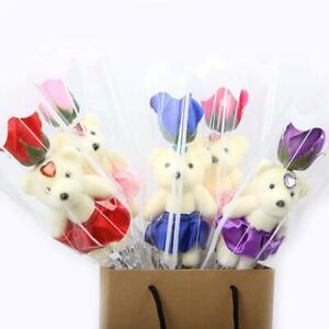 Ours-Rose-Fleur-Savon-Saint-Valentin-Creative-Cartoon-Bouquet-Poupees-Cadeau-FR