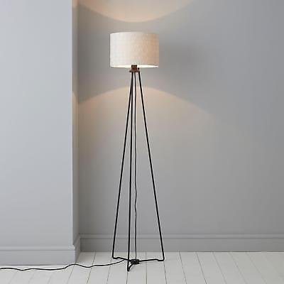Modern Metal Legs Tripod Floor Lamp Base Living Room Hallway Bedroom Lamps  Black | eBay