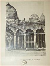 BIOGRAFIA: Bruno Ducati, MAOMETTO 1931 Le Monnier Illustrato Tavole Genealogia