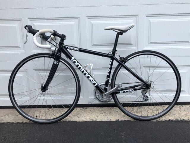 Carbon Fiber Frame Road Racing Bikes For Sale Ebay >> 2010 Tommaso Imola Road Bike Carbon Fork Club Race Under 100 Training Miles