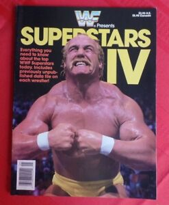 Details about WWF Superstars IV Hulk Hogan Bret Hart Andre The Giant Ultimate Warrior Warlord+