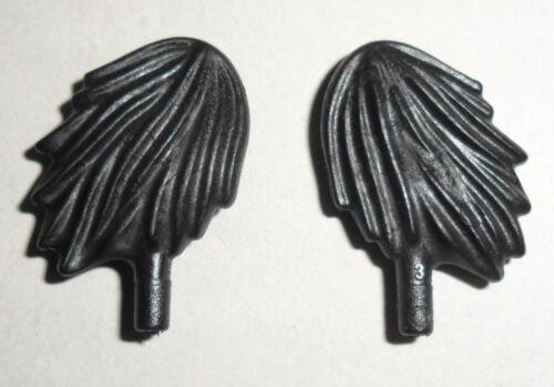 Helm- Feder 16214 2x Hut- Bommel groß schwarz