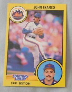 1991 Starting Lineup John Franco New York Mets