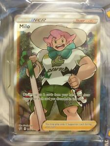 Milo-Full-Art-190-192-Rebel-Clash-Pokemon-Card-NEW