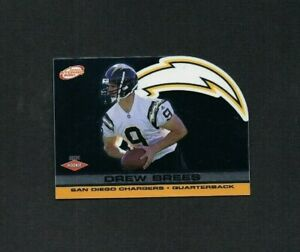 2001 PRISMS ATOMIC DREW BREES SERIAL #ED 483/506 ROOKIE RC CARD #188 CHARGERS