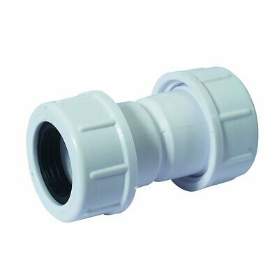 "McAlpine Universal Overflow Pipe Connector Socket Fits pipe 19-23mm 3//4/"" R1M"