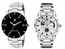 SPYN Casual Steel Belt Combo watches for men. mens watches