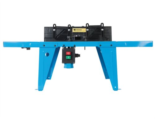 Silverline DIY Router Mounted Bench Table For With Protractor 460793
