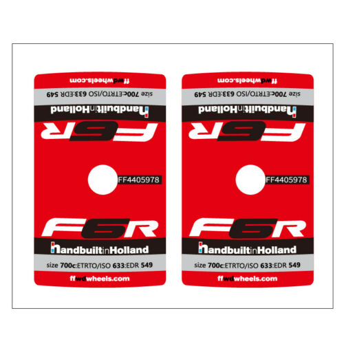 2PCS FFWD F6R F3D F4R Valve Sticker for Fast Forward Bike Bicycle Cycling Decals