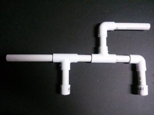 Set of 4 Marshmallow Med PVC Shooters Shoots Mini Mallows New Design!