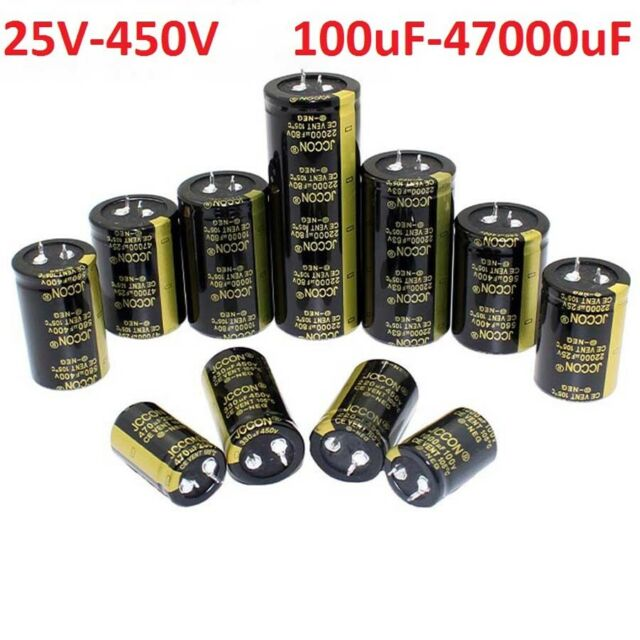 1 pz Condensatori elettrolitici 1000uF 63V volts 105°