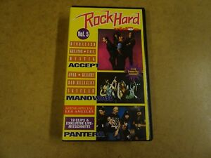 VHS-VIDEO-CASSETTE-ROCK-HARD-VIDEO-VOL-5-BIOHAZARD-KREATOR