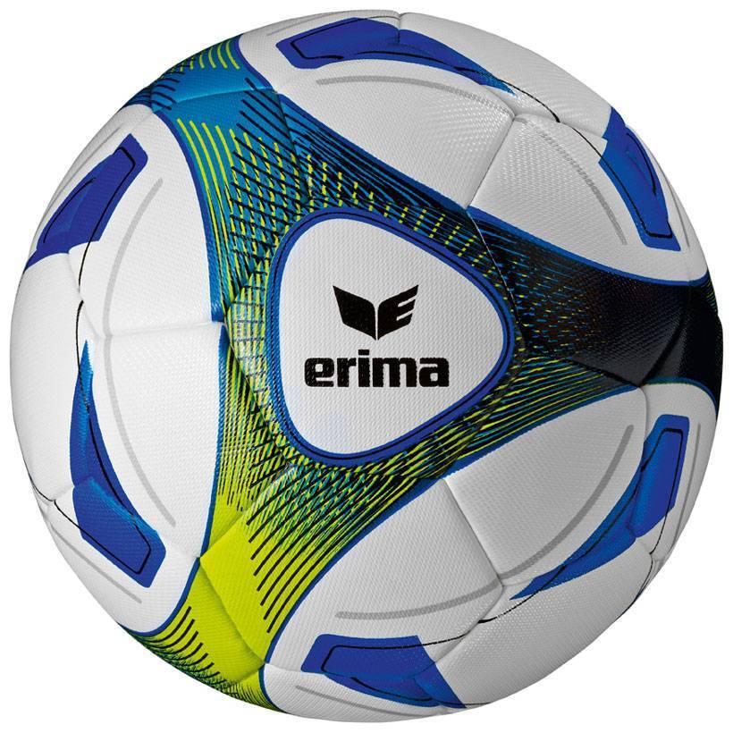 Erima 10er Ballpaket Hybrid Trainingsball Trainingsball Hybrid Fußball Größe 5 weiß-blau NEU 58890 175f1a