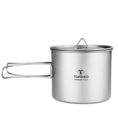 TOMSHOO Outdoor Alcohol Stove//Folding Spork//Wood Stove//Cup//Pot for Camping H9G9