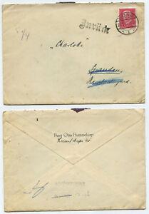 42767-Beleg-Bonn-21-3-1931-nach-Spandau-Hauptpostlagernd-zurueck