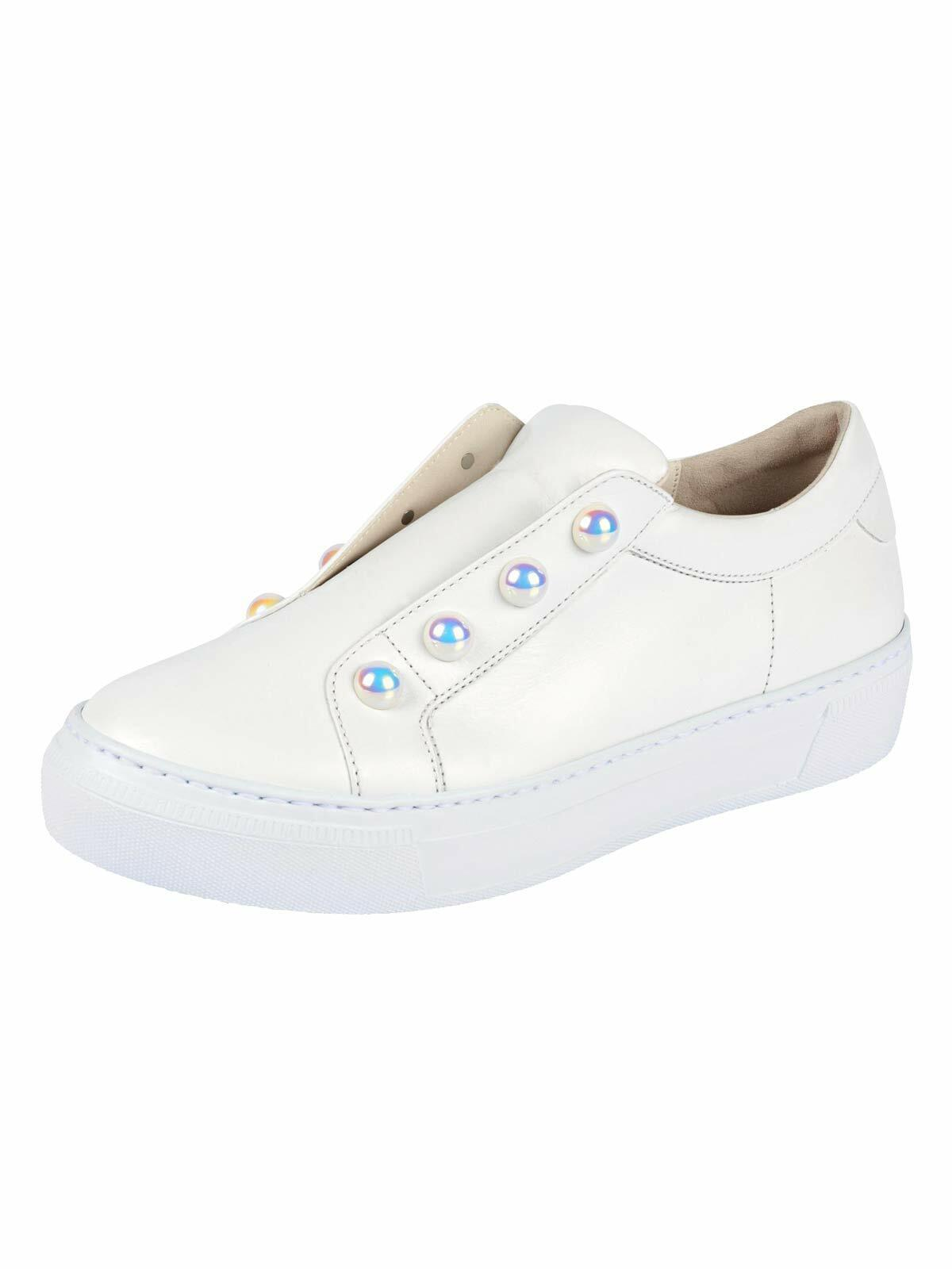 Gabor sport Calfskin with no laces white size 7,5