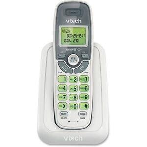 VTech CS6114-11 DECT 6.0 Cordless Phone Caller ID/Call Waiting,White 1 Handset
