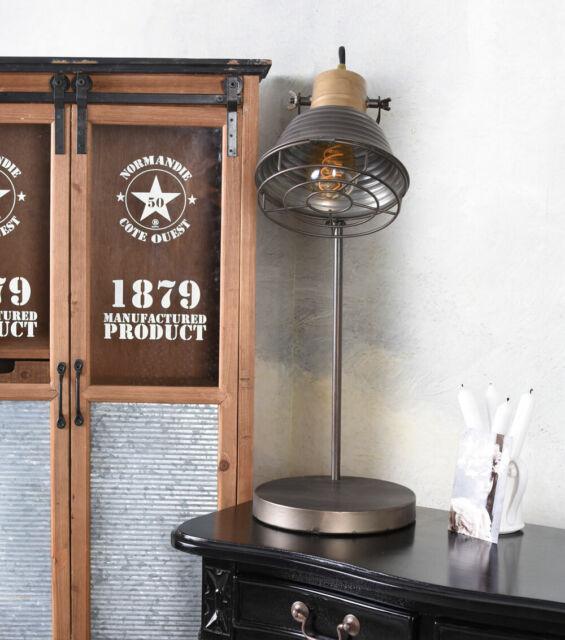 Schreibtischlampe Bauhaus Leuchte  Bürolampe Loft Retro Lampe Tischlampe Metall