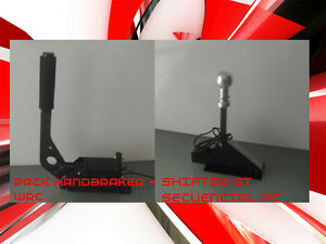 pack shifter gt handbrake wrc logitech g27 thrustmaster. Black Bedroom Furniture Sets. Home Design Ideas