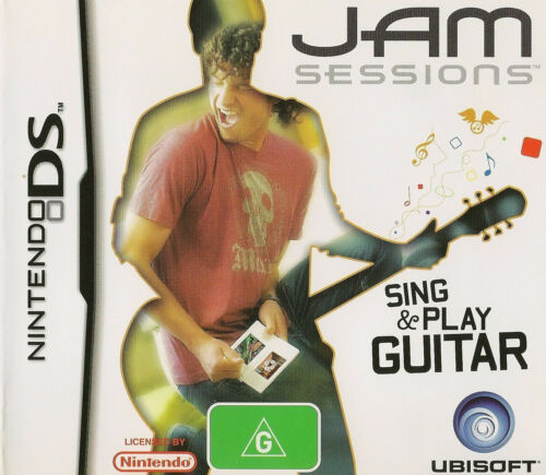 1 of 1 - Jam Sessions (Nintendo DS, 2007) NDS Game Sing & Play Guitar