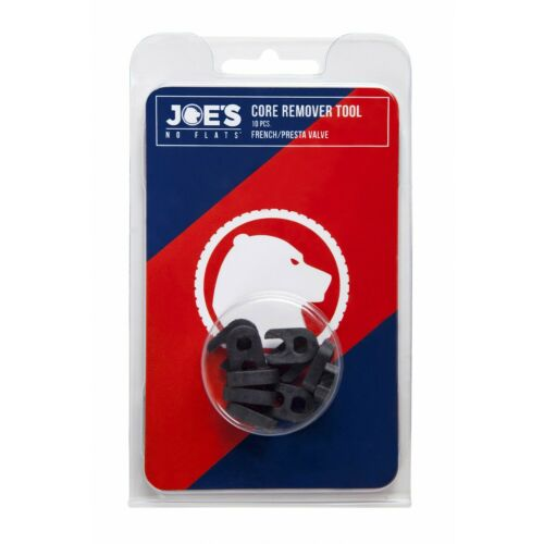 Presta Valve Key Tubeless Core Tool 10 Pieces Joes No Flats