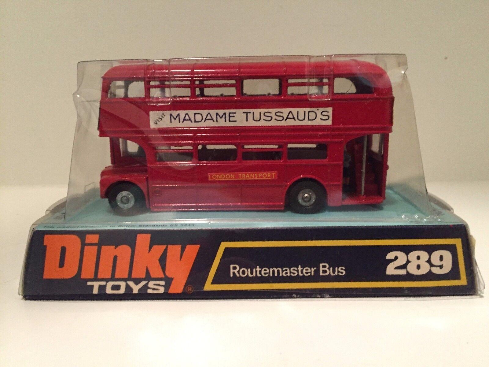 Meccano dinky spielzeug 289 routemaster - bus madame tussaud 's vintage - kings cross