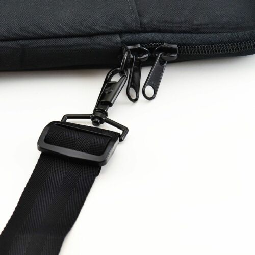 "Black Turtleback 11/"" Macbook Heavy Duty Laptop Sleeve Case with Strap"