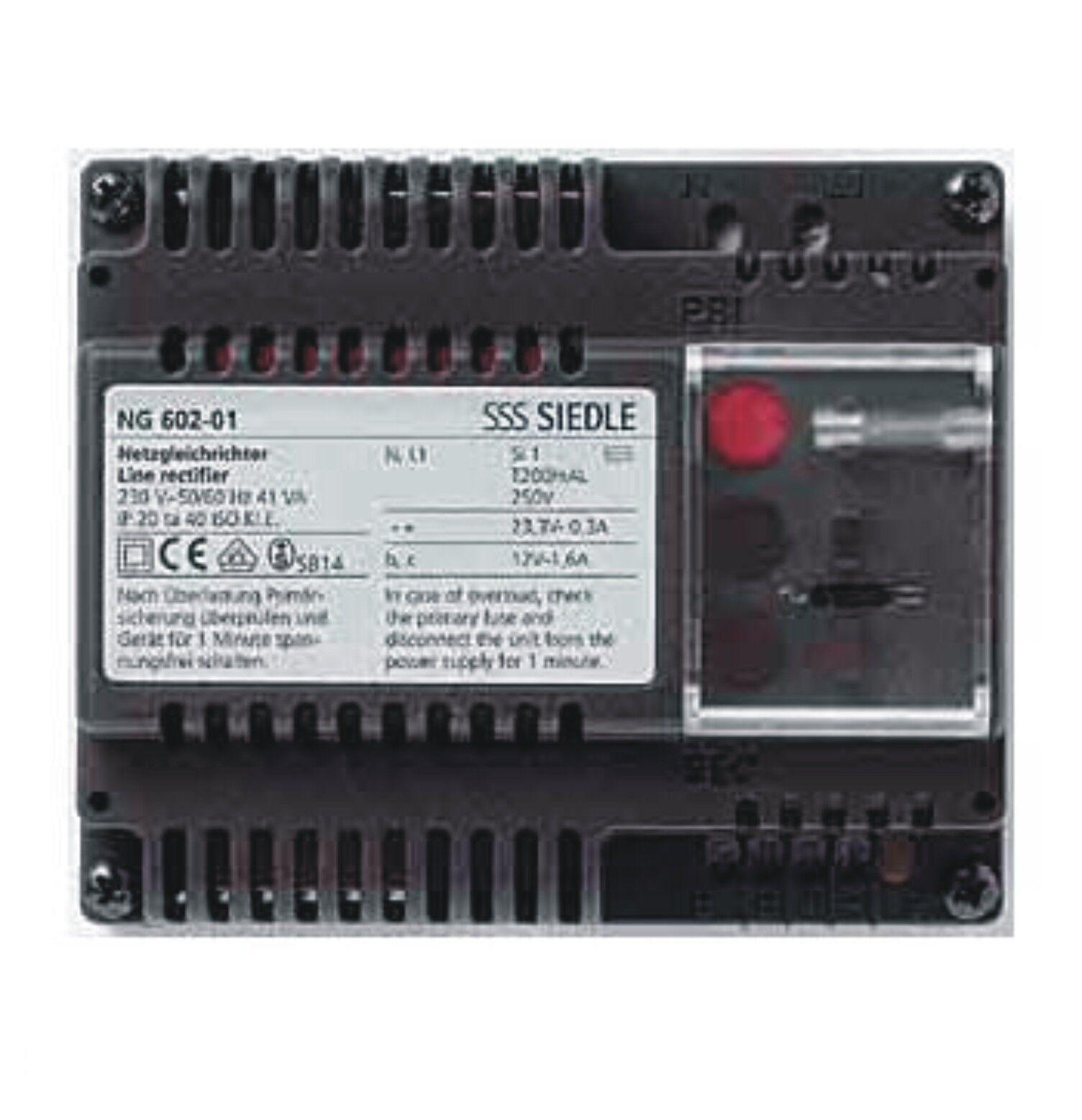 Siedle NG602-01 Netzgerät im Schalttafelgehäuse für die 1+n Technik