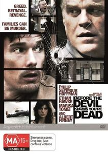 Before-The-Devil-Knows-You-039-re-Dead-DVD-2012-VGC-t57