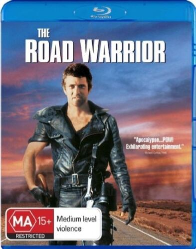 1 of 1 - The Road Warrior (Blu-ray, 2007)  New, ExRetail Stock, Genuine & unSealed D38