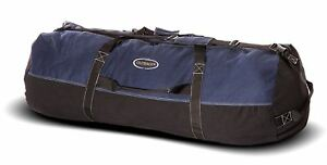 Details about Outback Men s Heavy-Duty X-LARGE Blue Canvas Duffle Bag  Travel Luggage 36