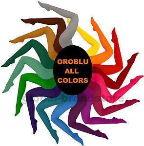 zuverlässige Qualität konkurrenzfähiger Preis weltweite Auswahl an Details zu OROBLU All Colors 50 bunte Strumpfhosen - semi blickdichte  Strümpfe, super weich