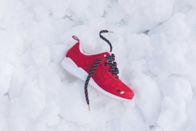 Kith x Moncler x Asics Gel Lyte III 3 Red - Size 10 - In Hand