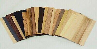 20 Sheets Wooden Veneers Set Wood
