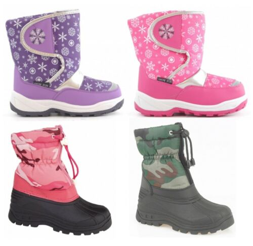 Infants Snow Fun Boots Snow Boots Childrens Snow Boots Size 10-2