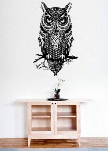 Amazing Owl Large amazing wall stickers vinyl decal Decor highest quality UK