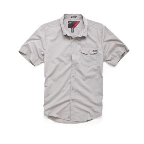 Gray M Alpinestars Bloc Out Shirt