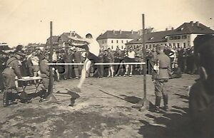 WWII-German-RP-Soldier-RAD-Semi-Nude-Gay-Interest-Sports-Event-High-Jump