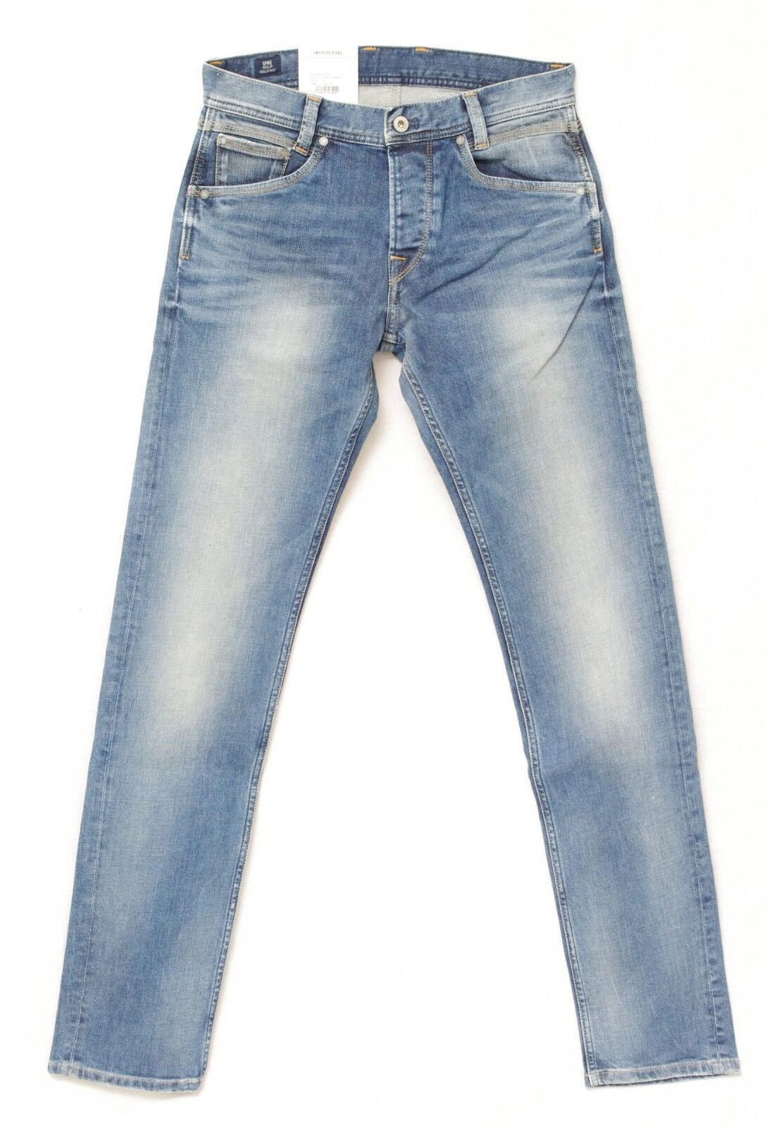 PEPE JEANS SPIKE jean regular fit homme blue PM200029M8  Regular Waist W 28 L 34