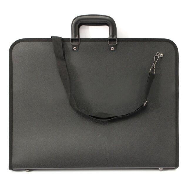 A3 Portfolio Expanding Folder File Organiser Office Document Carry Case O6D4