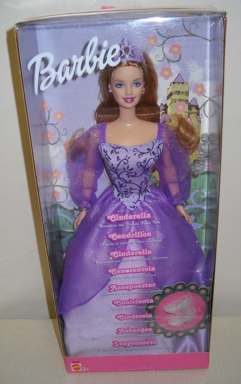 En Caja Original Mattel Barbie como Cenicienta extranjeros emitido cuento de hadas