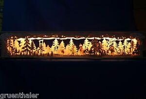 3D-LED-Schwibbogen-Sockel-80cm-Erhoehung-Unterbank-Bank-Winterkinder-Erzgebirge