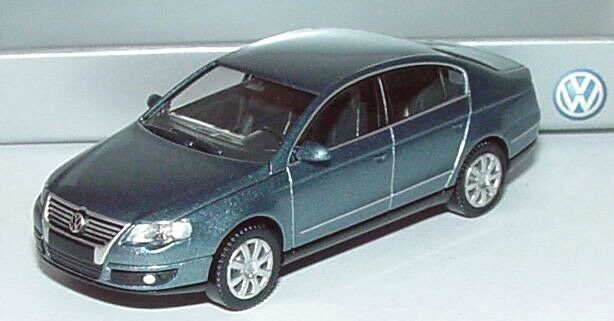 RARE VW PASSAT B6 3C 2.0 TDI SEL ARCTIC blueE SALOON 1 87 WIKING (DEALER MODEL)