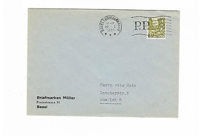 Briefmarken Schweiz Saubere Drucksache Ef 297 Ab Basel 27.1.1939 In Verschiedenen AusfüHrungen Und Spezifikationen FüR Ihre Auswahl ErhäLtlich Schweiz